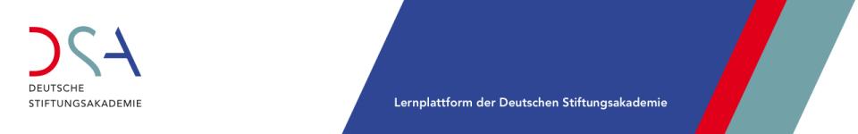 Logo of Deutsche Stiftungsakademie